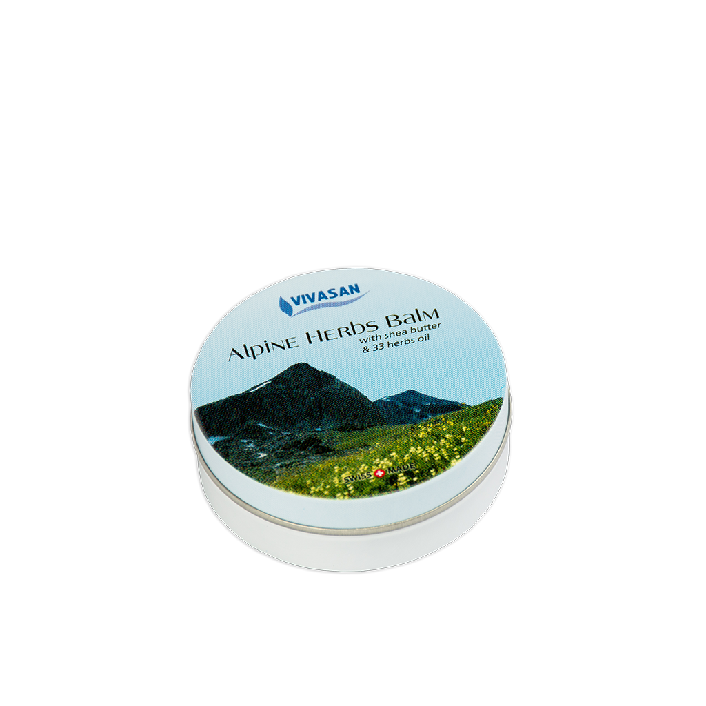 Бальзам з альпійських трав, 33 трави, Швейцарія / Alpine Herbs Balm