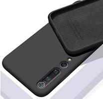 Силиконовый чехол Liquid Silicone Case Xiaomi Mi 10 Pro