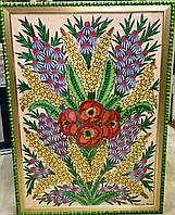 Картина Літні квіти худ.Параска Хома 1971 рік