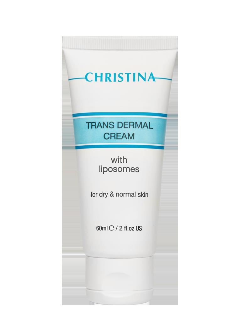 Трансдермальный крем с липосомами для сухой кожи Christina, 60мл - LYCHEECOM эффективная косметика по уходу в Киеве