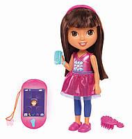 Интерактивная кукла Даша Dora путешественница и смартфон Fisher-Price Nickelodeon, фото 1