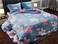 Семейный набор хлопкового постельного белья из Бязи Gold №154109 Черешенка (BC4G154109)
