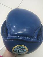 Шлем тренировочный закрытый, синий РАСПРОДАЖА, фото 1