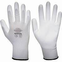 Перчатки нейлоновые с полиуретаном