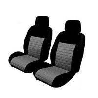 Подогрев сидений (чехол) черно- серый Al khateeb