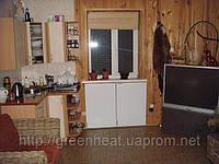 «Зеленое Тепло» GH-500 в кухне-столовой