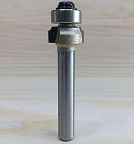 Фреза 1017 Sekira (Кромочная радиусная с подшипником) D12 h5 d6 R1, фото 2