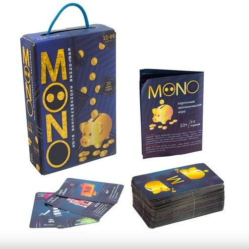 Карточная настольная игра для детей Mono