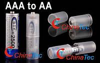 Конвертор батареи AAA to AA