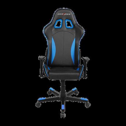 Кресло компьютерные DXRacer Formula OH/FE57/NB Black/Blue, фото 2