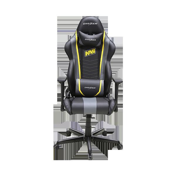 Кресло для геймеров DXRacer Racing OH/RZ60/NGY Black/Grey/Yellow NaVi Limited Edition 2.0