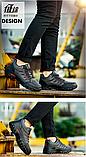 Кроссовки ботинки Jruike черные, фото 3