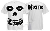 Футболка MISFITS (лого) - белая
