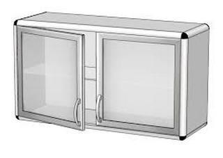 Шкаф навесной ШН-2 (1000x300x500)