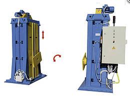 Сварочные кантователи с подъемными центрами для сварки рамных металлоконструкций