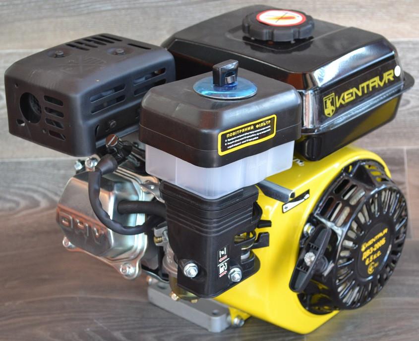 Двигатель бензиновый Кентавр ДВЗ 200 Б 6,5 л.с. вал 20 мм шлиц.