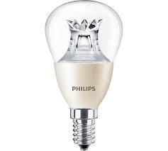 Светодиодная лампа MASTER LEDlustre DT 6-40W E14 827 P48 DIM CL  Philips