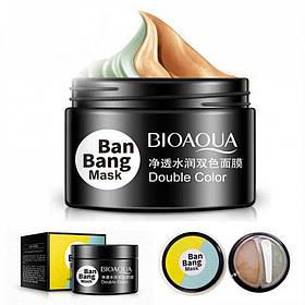 Маска для обличчя Bioaqua Ban Bang: двофазна для комбінованої шкіри