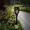 Садовий світильник Факел [Flame Light] 2 шт з імітацією вогню > на сонячній батареї > водонепроникний, фото 2