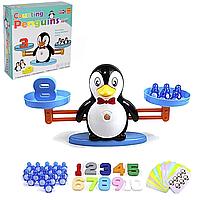 Детская развивающая настольная игра Duo Duo сохрани баланс пингвины (DD1808-8)