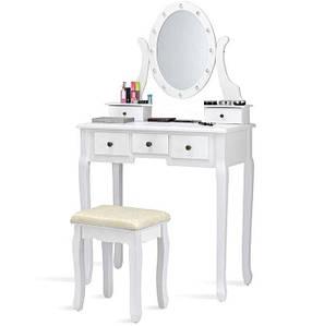 Туалетний столик Альбасете дзеркала з підсвічуванням