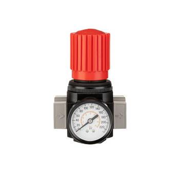 """Регулятор давления 1/2"""", 1-16 бар, 4000 л/мин, профессиональный INTERTOOL PT-1428, фото 2"""