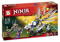 """Конструктор Ninja SY338 """"Битва с Драконом"""", 387 дет"""