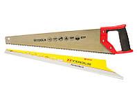 Ножовка по дереву с каленым зубом 450 мм, 55 HRC, 7 TPI
