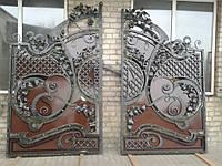 """Элитные кованые ворота. Ручная ковка. Покраска эмалью """"Alpina"""". Возможна доставка и установка. Гарантия."""