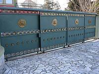 Ворота литые