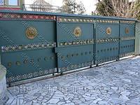 Ворота из чугуна, декоративное литье в Киеве