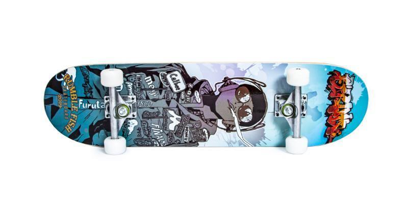 Скейтборд Профессиональный скейт Skateboard Hands Free из клена для трюков до 80 кг