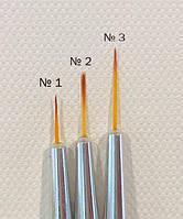 Кисть для дизайна ногтей OPI № 1, фото 1