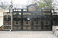 Ворота кованые в Одессе