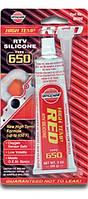 Силиконовый герметик, красный HI-TEMP RED SILICONE, 85g