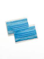 Маска в индивидуальной упаковке защитная трехслойная / Защитная маска для лица / Заказ от 50 шт.
