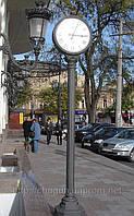 Уличные и фасадные часы на заказ