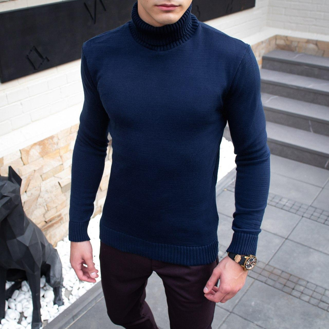 Чоловічий светр Axelrod (синій)