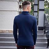 Чоловічий светр Axelrod (синій), фото 2