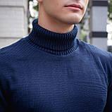 Чоловічий светр Axelrod (синій), фото 3