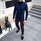 Чоловічий светр Axelrod (синій), фото 4