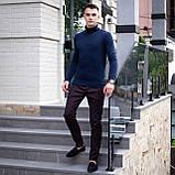 Чоловічий светр Axelrod (синій), фото 5