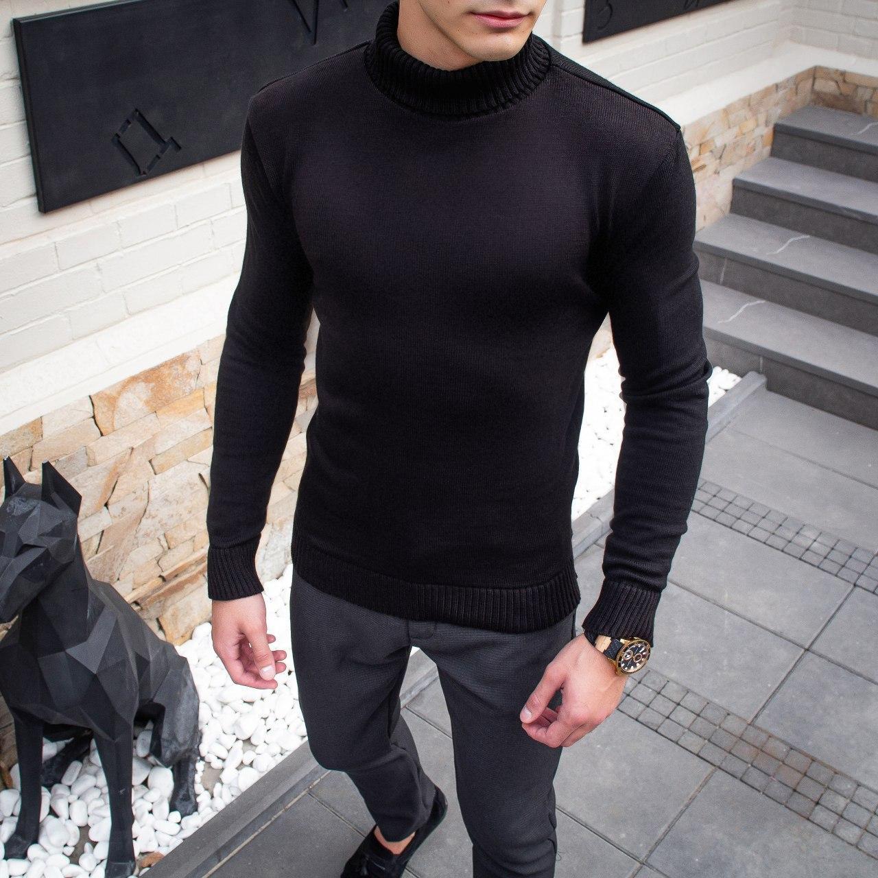 Чоловічий светр Axelrod (чорний)