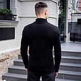 Чоловічий светр Axelrod (чорний), фото 3