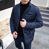 Мужская куртка-пиджак Dollar Bill (синяя), фото 2