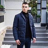 Мужская куртка-пиджак Dollar Bill (синяя), фото 3