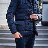Мужская куртка-пиджак Dollar Bill (синяя), фото 8