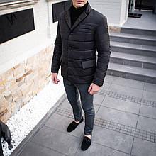 Чоловіча куртка-піджак Dollar Bill (чорна)