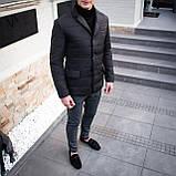 Чоловіча куртка-піджак Dollar Bill (чорна), фото 2