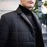 Чоловіча куртка-піджак Dollar Bill (чорна), фото 7